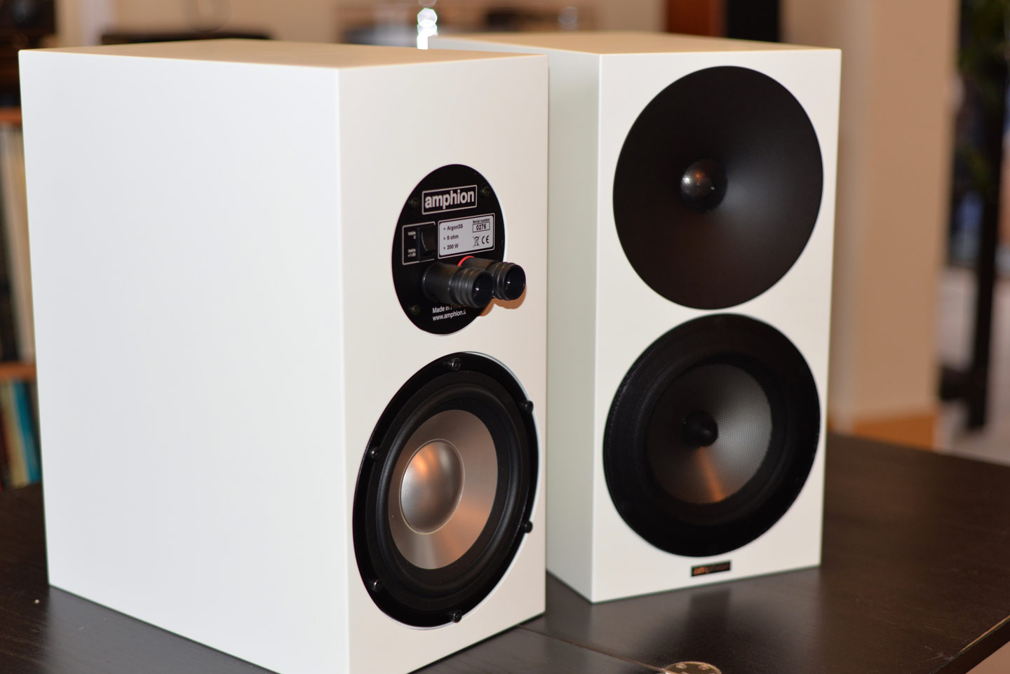 enceintes AMPHION ARGON 3S